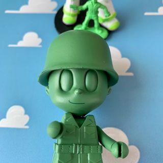 Q版 綠兵 槍枝 8CM 玩具總動員 公仔 娃娃 迪士尼 皮克斯 DISNEY PIXAR TOYSTORY