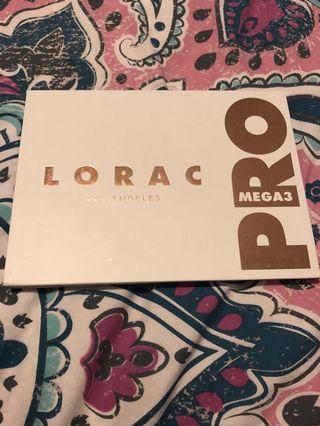 Lorac PRO mega 3 pallet eyeshadow