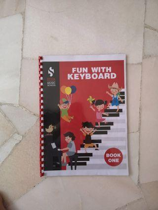 Fun with keyboard book 1 condition 8/10