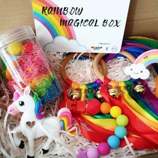Rainbow Magical Box gift set