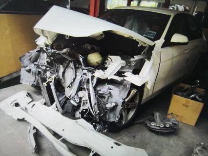 BMW 316i Scrap Wreck