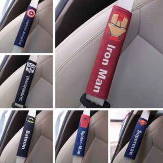 Seat Belt Cover (Superheroes Edition) #Endgameyourexcess