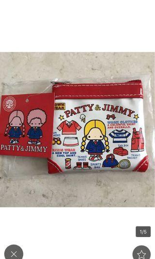 Sanrio patty and jimmy coins bag 錢包 散子包