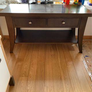 TV unit console with drawers