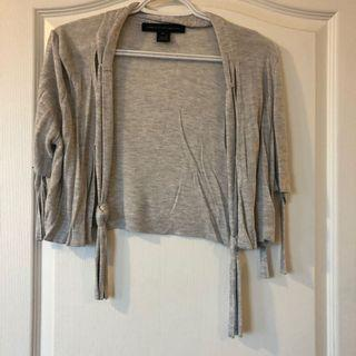 French connection cropped cardigan