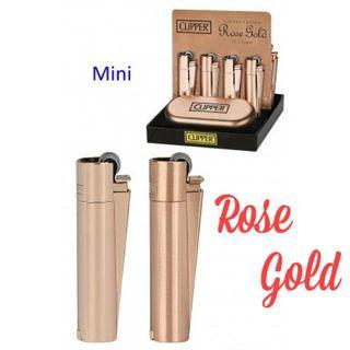 New Limited Edition Rose Gold Clipper Lighter (Small)