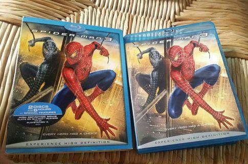 中古藍光碟 電影 2007 SPIDER MAN 3 雙碟六小時特別收錄 bluray blu ray 中文字幕