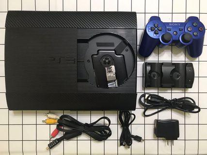 🚚 PS3主機+正版遊戲光碟7片