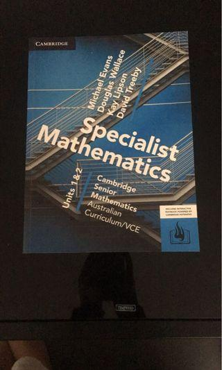 cambridge specialist 1/2 maths tb
