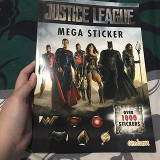 Buku Mega Sticker Justice League