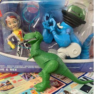 特殊款 玩具總動員 翠絲 抱抱龍 REX 太空人 太空系列 牛仔 星際 迪士尼 皮克斯 大型玩具