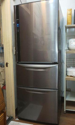 【85成新家電4折賣】 《Panasonic 國際牌》385公升變頻三門冰箱 NR-C479HV