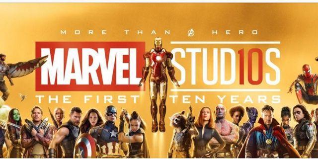 Marvel 十週年海報