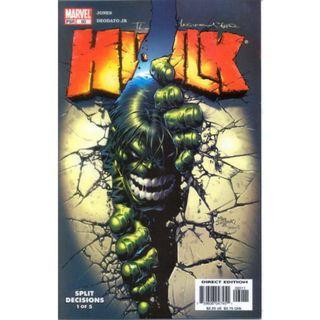 "THE INCREDIBLE HULK #60 - 66 (2003) ""Spilt Decisions"" Complete set #ENDGAMEyourEXCESS"