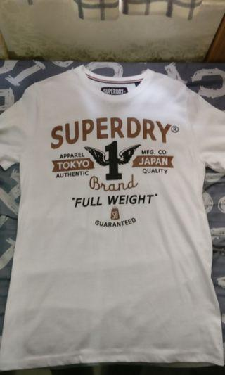 Superdry Tee (White / Size M)