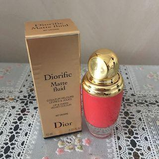 (包順豐)全新Dior Lip and Check Matte Fluid胭脂唇煥采蜜(兩用)