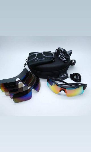 Kacamata sepeda oakley magnum