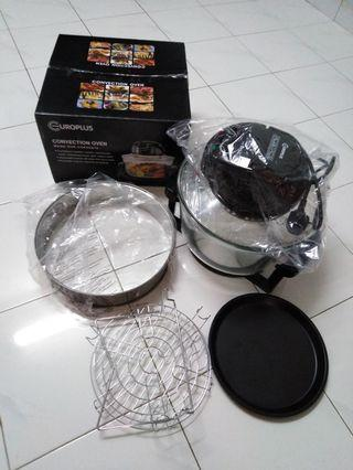 Europlus halogen convection oven 12L (extender ring 17L)
