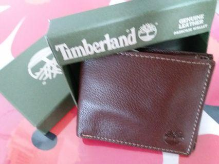 Timberland Brown Leather  Small Wallet