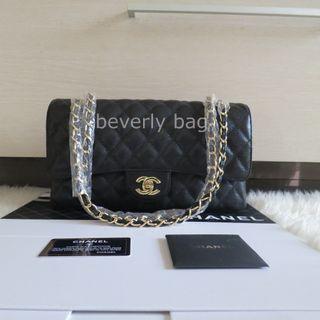 32ac38f2e5b4 Jual Bag Mirror Chanel Classic Caviar 30 BAG ORI LEATHER MIRROR - hitam GHW
