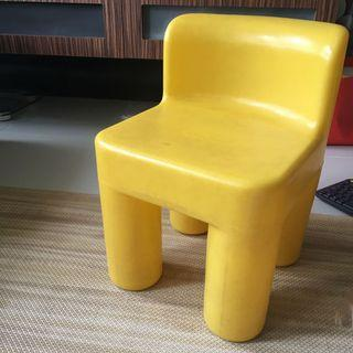 #EndgameYourExcess  2pcs x Little Tikes chairs (Yellow)