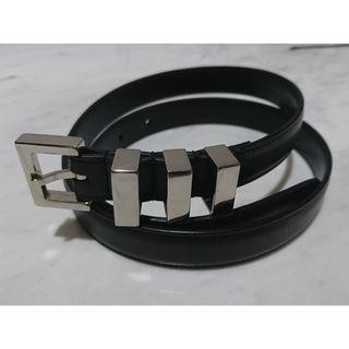 Saint Laurent Classic 3 Passants Leather Belt 皮帶