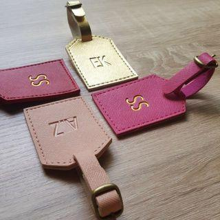CUSTOM LUGGAGE TAG embossed