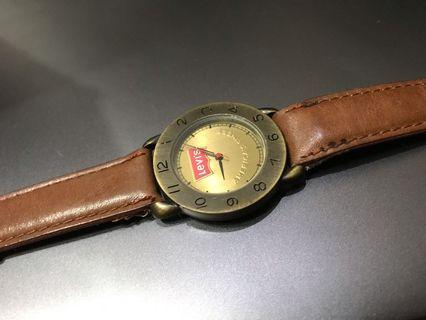 Levis leather watch