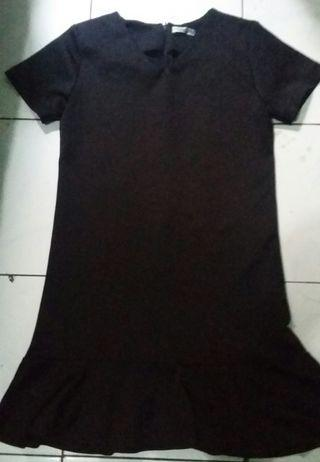 #mauthr dress hitam
