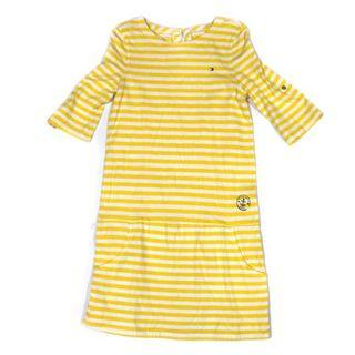 Tommy Hilfiger Yellow Stripes Dress
