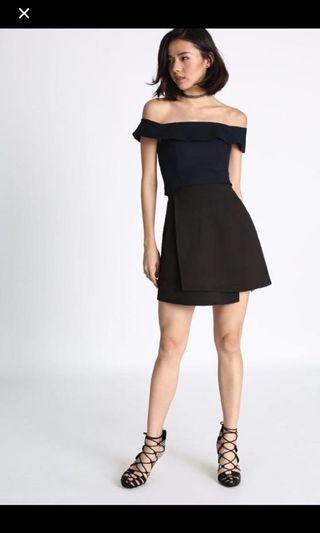 Love Bonito Saeth Foldover Skirt