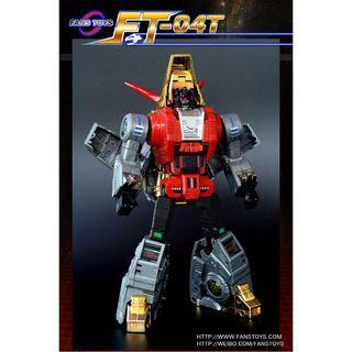 🚚 Transformers FT-04 - Iron Dibots No.1 - Scoria (AKA SLUG) MP Size