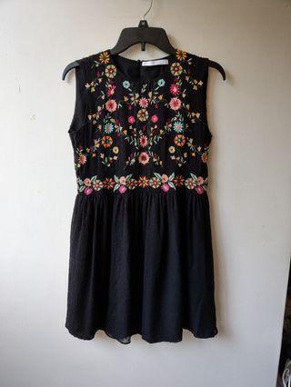 Zara無袖洋裝