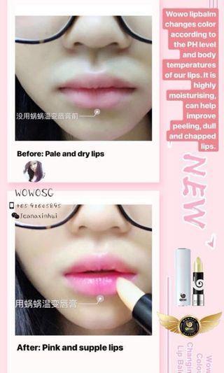 Wouwou Colour Awakening Lip Balm