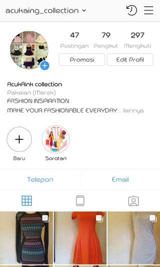 Follow me on ig@acukaingcollection