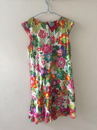Colorful paradise dress from King Kow
