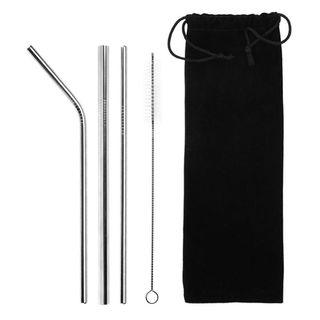 Sedotan Ramah Lingkungan / Stainless Steel Straws