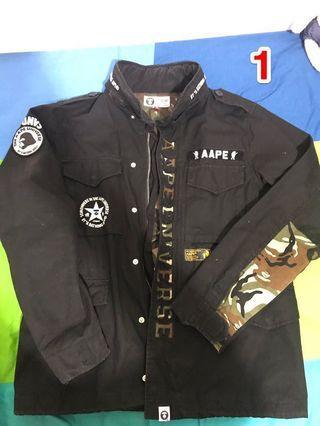 Aape外套 (M碼)