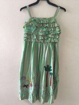 Smocking dress from King Kow