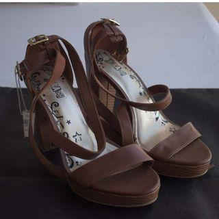 Payless - Brash Brown Open Heels