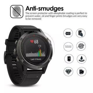 Brand New 9H Tempered Glass Watch Face Screen Protector For Garmin Fenix 5