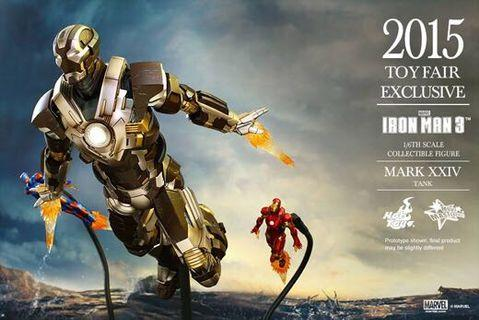 Hottoys hot toys Ironman exclusive mark 24 end game