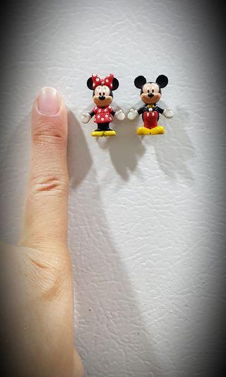 Mickey and Minnie tokyo disney magnets