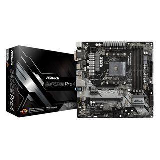 ASRock B450M Pro4 Micro ATX AM4 Motherboard