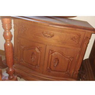 2 Teak Wood small drawer cabinet