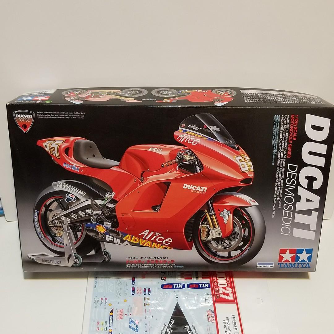 1/12 雙星 Tamiya Ducati Desmosedici 連Studio27 水貼