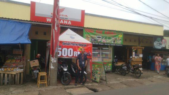 Honda beat cw fi dp500ribuan