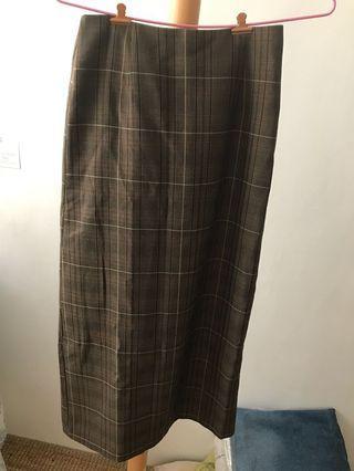 🚚 韓國 高腰格子裙