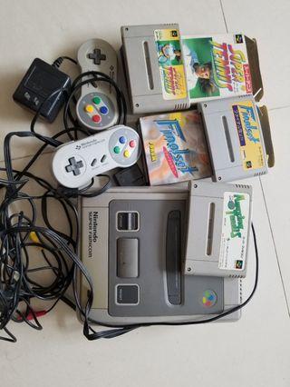 Nintendo super famicom 任天堂遊戲机 $100
