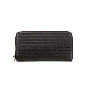 Dior Homme Soft Leather Zip Around Clutch
